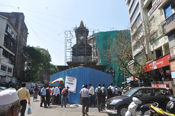 Clock Tower on Perin Nariman Street