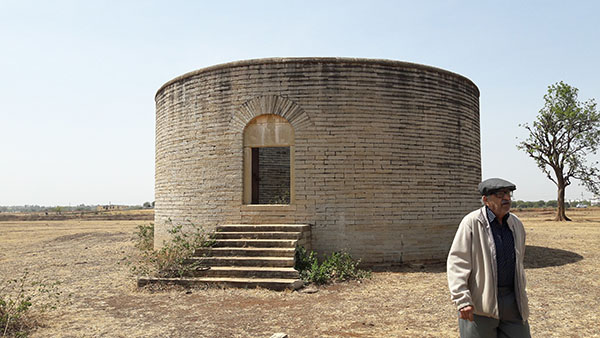 Community property - Tower of silence in Neemuch in Madhya Pradesh